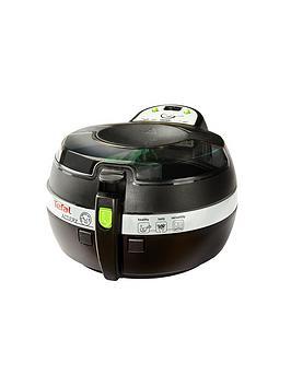 Tefal Fz707240 1Kg Actifry Snacking Low Fat Healthy Fryer  Black