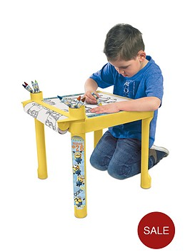 minions-colouring-table