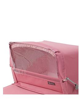 Silver Cross  Dolls Pram Rain Shield - Pink