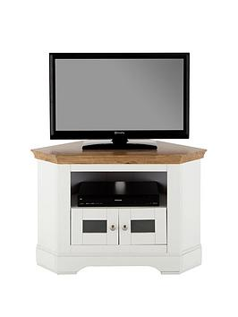 Very Wiltshire Corner Tv Unit - Fits Up To 40 Inch Tv Picture