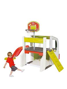 smoby-fun-centre-playhouse-with-slide