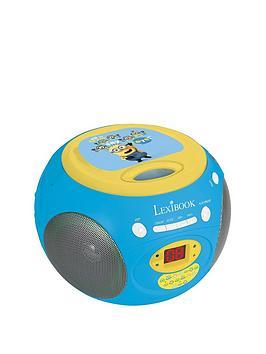 minions-lexibook-radio-cd-player