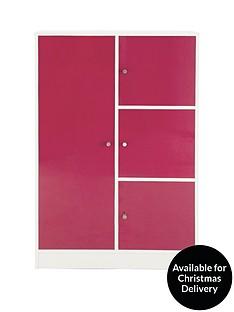 kidspace-cosmo-gloss-small-wardrobe