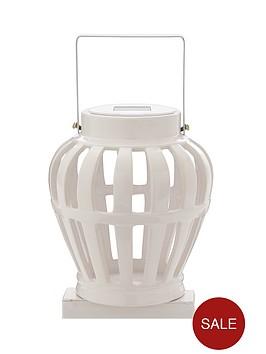solar-ceramic-lantern-white