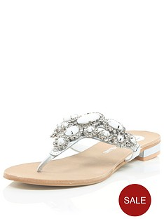 river-island-large-stone-and-diamanteacutenbspmule-sandals