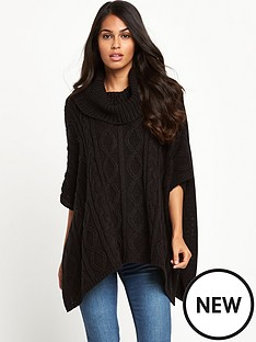 south-cowl-neck-poncho