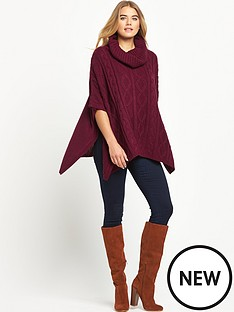 south-cowl-neck-ponchonbsp