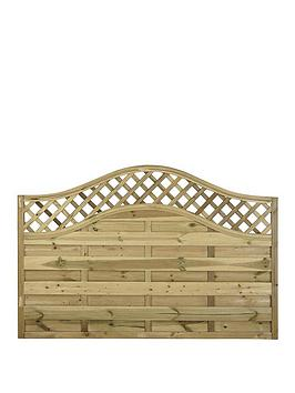 FOREST  Forest 1.2M Prague Garden Fence Panels (Pack Of 4)