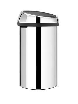 brabantia-60-litre-touch-bin-brilliant-steel