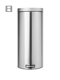 brabantia-classic-30-litre-pedal-bin--matt-steel