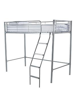 Very Domino High Sleeper Bed Frame  - High Sleeper With Premium Mattress Picture