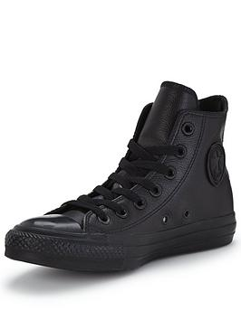 converse-chuck-taylor-all-star-leather-hi-top-plimsolls