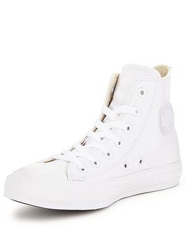 Converse Chuck Taylor All Star Leather Hi-Tops  069c2bf13