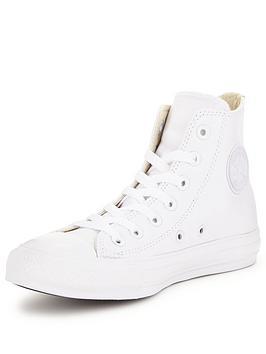 db2311664f52 Converse Chuck Taylor All Star Leather Hi-Tops