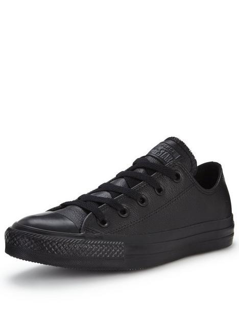 converse-chuck-taylor-all-star-leather-ox-plimsolls-black