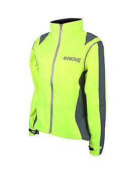 Proviz Ladies Waterproof Cycling Jacket  Yellow