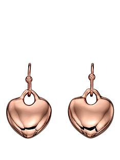 fiorelli-rose-gold-tone-heart-drop-earrings
