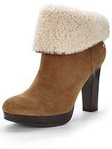 Dandylion Tres Shearling Ankle Boot