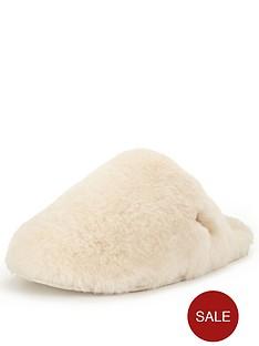 ugg-australia-fluff-clog-slipper