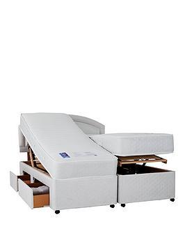 Mibed Fraiser Adjustable Divan Bed  2 X Linked Beds (Includes Headboard!)