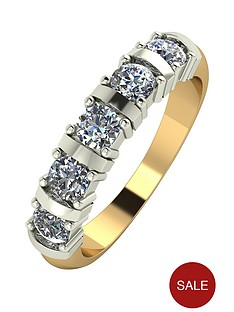 moissanite-9-carat-yellow-gold-1-carat-moissanite-5-stone-eternity-ring