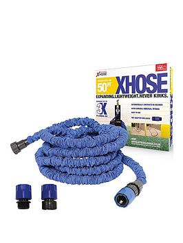 XHOSE Xhose Expanding Garden Hose Pipe With Tap Adaptor - 50Ft Picture