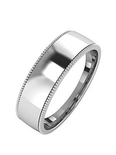 the-love-silver-collection-silver-mill-grain-edge-6-mm-court-wedding-band