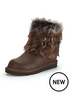 ugg-australia-girls-elle-leather-boots
