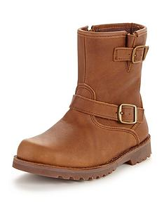ugg-australia-girls-harwell-leather-boots