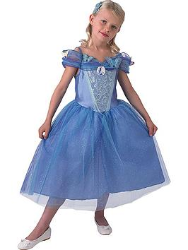 disney-princess-live-action-cinderella-childrens-costume-with-free-book