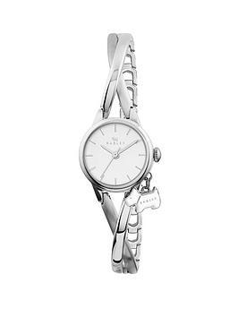 Radley Bayer Twisted Vintage Stainless Steel Half Bangle Ladies Watch