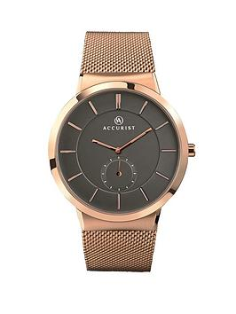 accurist-rose-gold-tone-bracelet-mens-watch