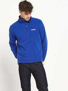 regatta-thompson-frac12-zip-mens-fleece-blue