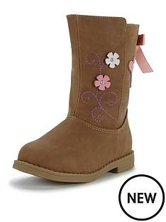 ladybird-younger-girls-bella-floralembroidery-boot