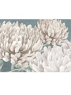 graham-brown-teal-bloom-canvas-with-foil-print