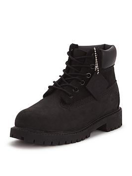 Timberland Timberland 6 Inch Premium Classic Older Boys Boots - Black Picture
