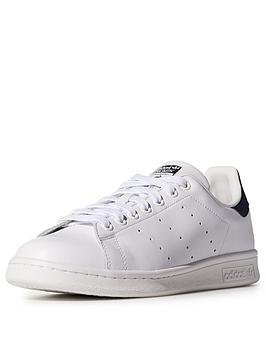 Adidas Originals Stan Smith Trainers  WhiteNavy