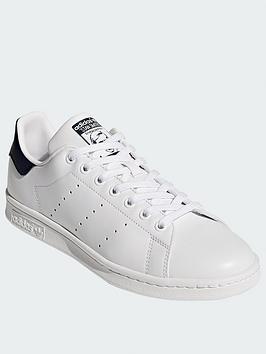 adidas Originals Adidas Originals Stan Smith Trainers - White/Navy Picture