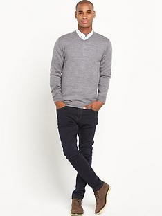 goodsouls-goodsouls-merino-wool-v-neck-mens-jumpernbsp