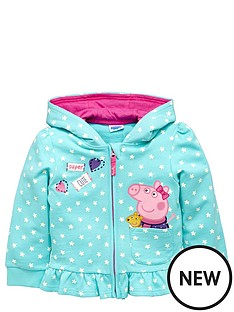 peppa-pig-girls-peppaampnbsppig-zip-through-hoodie