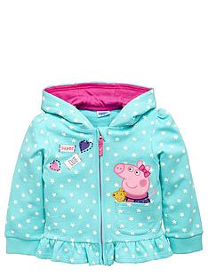 peppa-pig-girls-peppanbsppig-zip-through-hoodie