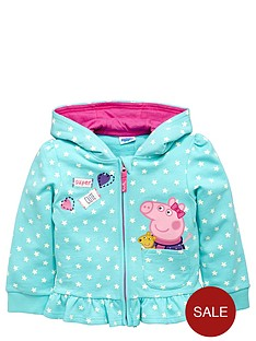 peppa-pig-girls-peppanbsppig-zip-through-hoodie
