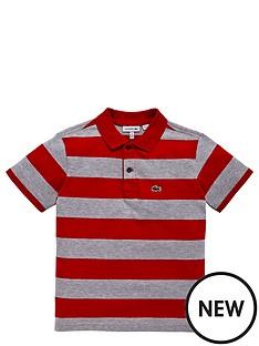 lacoste-lacoste-boys-ss-stripe-jersey-polo