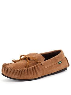 dunlop-suede-moccasin-slippers