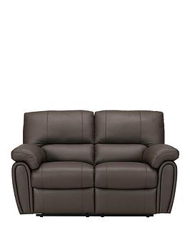 Violino Violino Leighton Leather/Faux Leather 2 Seater Power Recliner Sofa Picture