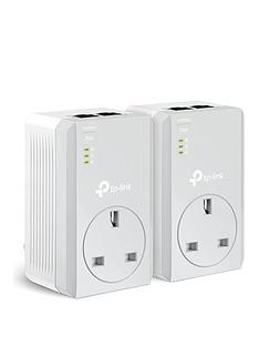 tp-link-internet-extender-tl-pa4020pkit-av-600mpbs-passthrough-powerline-starter-kit