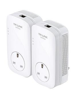 tp-link-av-1200mbps-gigabit-passthrough-internet-extender-powerline-starter-kit