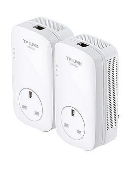 tp-link-av-1200mbps-gigabit-passthrough-internet-extender-powerline-starter-kit
