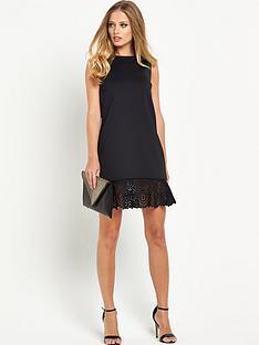 ted-baker-full-frill-hem-skirt-dress