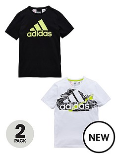 adidas-adidas-yb-pack-of-two-tees